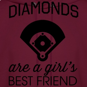 Diamonds are a girl's best friend T-Shirts - Men's Hoodie