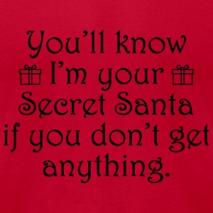Secret Santa - Men's T-Shirt by American Apparel