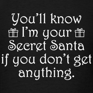 Secret Santa - Men's T-Shirt