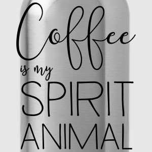 Coffee is my spirit animal T-Shirts - Water Bottle