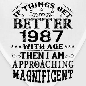 IF THINGS GET BETTER WITH AGE-1987 T-Shirts - Bandana