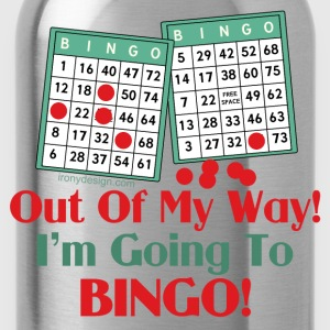 Bingo Funny Saying - Water Bottle