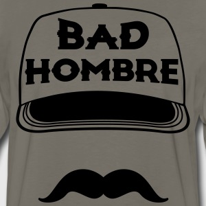 BAD HOMBRES TRUMP T-Shirts - Men's Premium Long Sleeve T-Shirt
