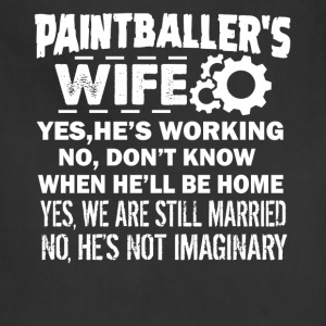 Paintballer Wife Shirt - Adjustable Apron