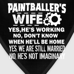 Paintballer Wife Shirt - Bandana