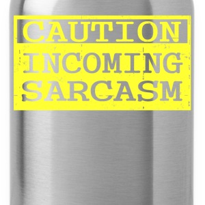 sarcasm 1.png T-Shirts - Water Bottle