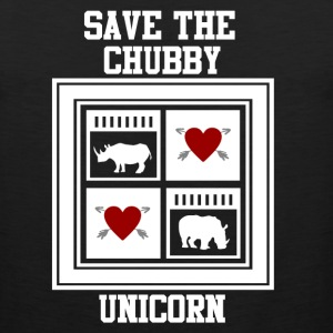 SAVE THE CHUBBY UNICRON 2.png T-Shirts - Men's Premium Tank