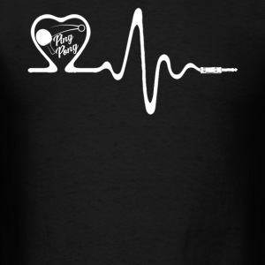 Ping Pong Heartbeat Shirt - Men's T-Shirt
