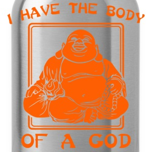 I Have The Body Of A God - Water Bottle