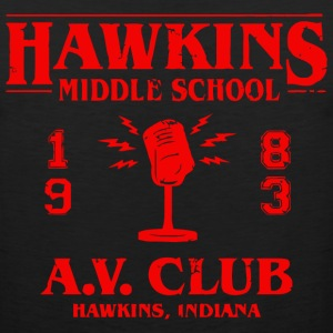 Hawkins Middle School A - Men's Premium Tank