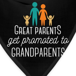 Great Parents get promoted to Grandparents - Bandana