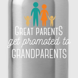 Great Parents get promoted to Grandparents - Water Bottle