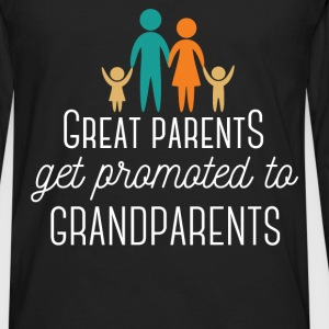 Great Parents get promoted to Grandparents - Men's Premium Long Sleeve T-Shirt
