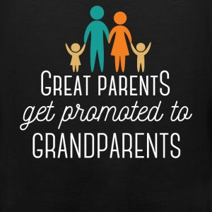 Great Parents get promoted to Grandparents - Men's Premium Tank