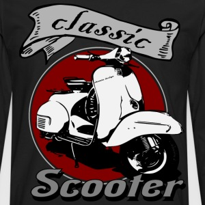 Classic Scooter Tees - Men's Premium Long Sleeve T-Shirt