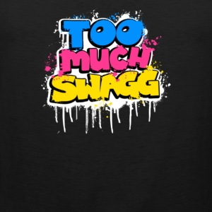 Too Much Swagg Graffiti - Men's Premium Tank