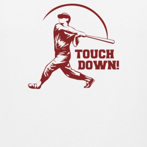 Touch Down Funny - Men's Premium Tank