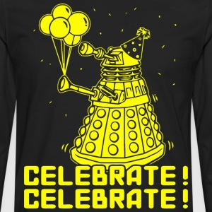 Dalek Celebrate! - Men's Premium Long Sleeve T-Shirt