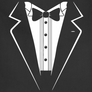 Classic Black Tuxedo - Adjustable Apron