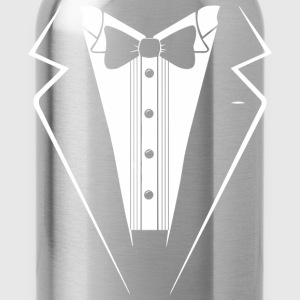 Classic Black Tuxedo - Water Bottle