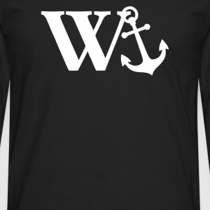 w anchor - Men's Premium Long Sleeve T-Shirt