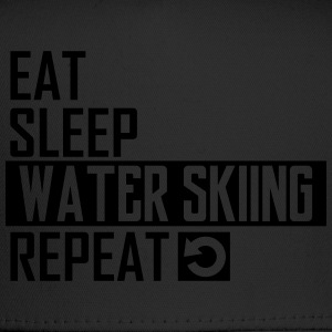 eat sleep water skiing T-Shirts - Trucker Cap