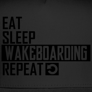 eat sleep wakeboarding T-Shirts - Trucker Cap