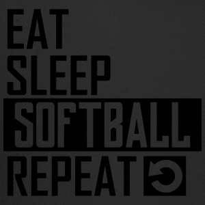 eat sleep softball T-Shirts - Trucker Cap