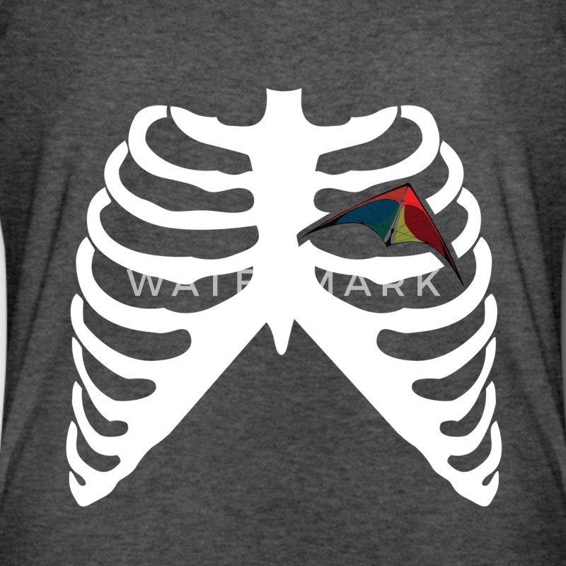MY HEART BEATS FOR KITES - I LOVE KITES! T-Shirts - Men's Long Body Urban Tee