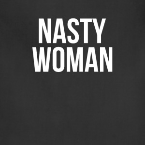 NASTY WOMAN JOKE FUNNY ELECTION T-Shirts - Adjustable Apron