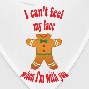 funny Christmas gingerbread man - Bandana