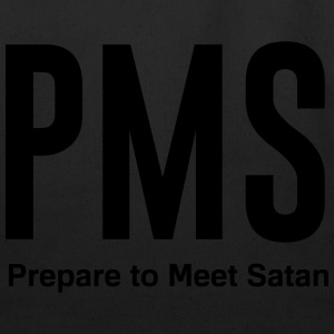 PMS. prepare to meet satan T-Shirts - Eco-Friendly Cotton Tote
