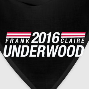 Frank Underwood & Claire Underwood 2016 - Bandana