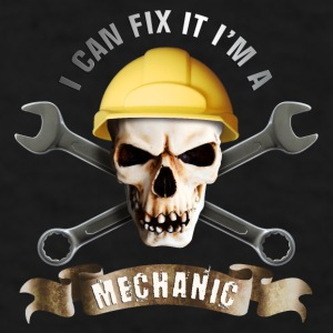 craftsman_mechanic_skull_c Mugs & Drinkware - Men's T-Shirt