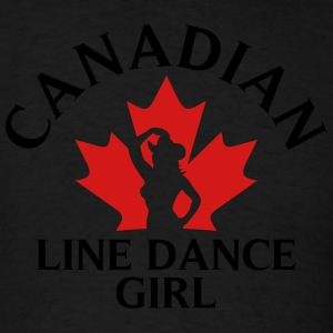 can_linedancegirl_subgirl Tanks - Men's T-Shirt