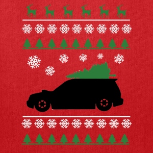 Forester XT Christmas Sweater (white snowflakes)  - Tote Bag