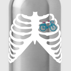 MY HEART BEATS FOR BICYCLES - I LOVE MY BIKE! T-Shirts - Water Bottle