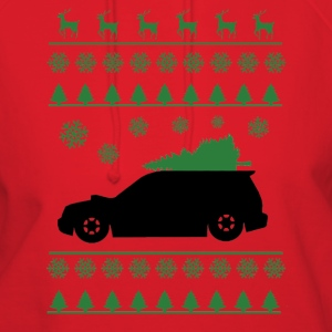 Forester XT Christmas Shirt (Green)  - Women's Hoodie
