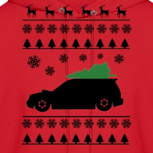 Forester XT Christmas Sweater (Black) - Men's Hoodie