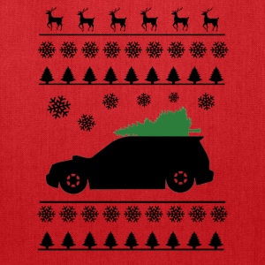 Forester XT Christmas Sweater (Black) - Tote Bag