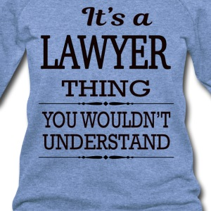 It's A Lawyer Thing You Wouldn't Understand - Women's Wideneck Sweatshirt