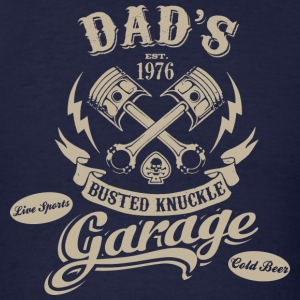 Dad's Garage - Men's T-Shirt