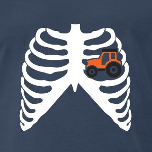 MY HEART BEATS FOR TRACTORS! I LOVE TRACTORS! Sportswear - Men's Premium T-Shirt