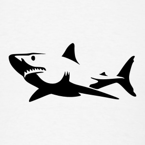 Shark Buttons - Men's T-Shirt