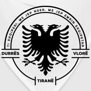 Albanian Cities Badge - Bandana