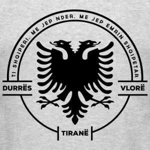 Albanian Cities Badge - Men's T-Shirt