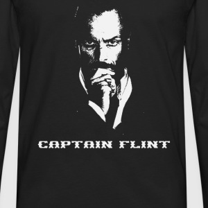 Captain Flint Black Sails Pirate - Men's Premium Long Sleeve T-Shirt