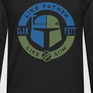 Clan Fett - Men's Premium Long Sleeve T-Shirt