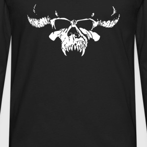 Skull Bone Heavy Metal Rock Band Legend - Men's Premium Long Sleeve T-Shirt