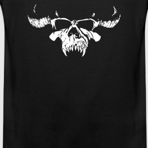 Skull Bone Heavy Metal Rock Band Legend - Men's Premium Tank